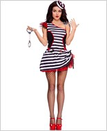 Adult Jail House Hottie Costume ML-70509