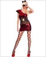 Adult Lady Popstar Costume ML-70524