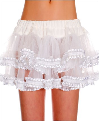 Double Layered Ruffle Petticoat ML-727