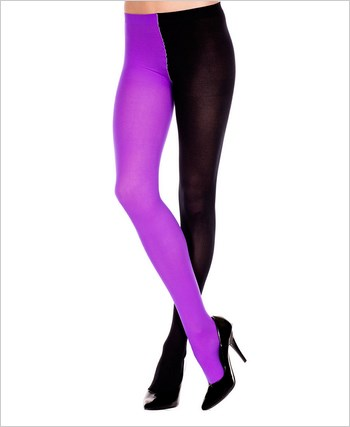 Plus Size Opaque Jester Tights
