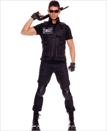 Adult Swat Commander Mens Costume ML-76001
