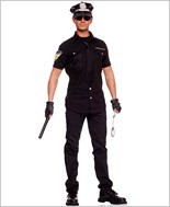 Adult Arrest Me Officer Costume ML-76006