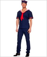 Adult Mens Ahoy Sailor Costume ML-76007