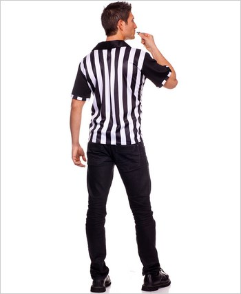 Adult Mens Referee Costume ML-76012