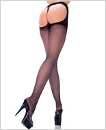 String Back Sheer Pantyhose ML-802