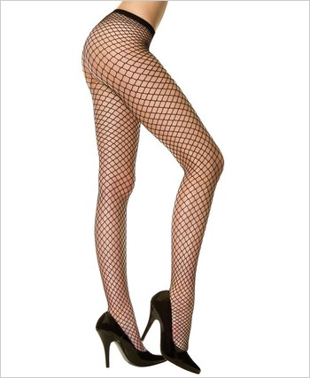 Music Legs® Seamless Lycra Diamond Net Pantyhose ML-9030Q