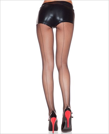 Backseam Fishnet Pantyhose ML-920