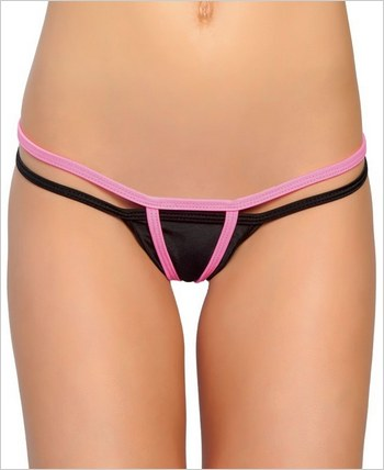 Roma Two Strings Open Crotch G-String RC-118L