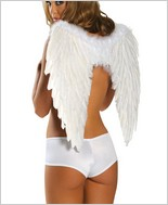 Roma® White Feather Wings RC-1361W