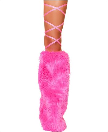 "100"" Shiny Dot Thigh Wraps  RC-3089-Hot Pink"