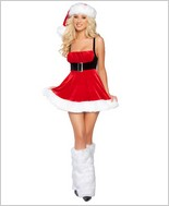 Santas Envy Sexy Adult Costume By Roma Costume RC-C139