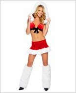 Santas Sweetheart Sexy Adult Costume By Roma Costume RC-C140