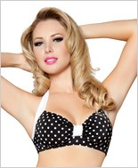 Halter Top  RC-T3090-Black/White