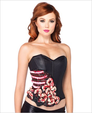 Blood And Guts Corset La-2609