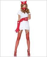 Psycho Nurse Sally Adult Costume La-85048