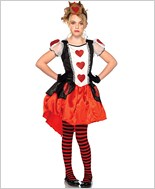 Wonderland Queen Toddler Baby Costume La-C48205