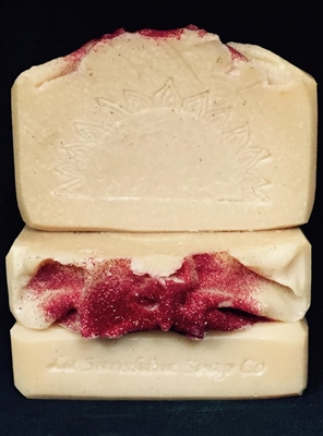 Hibiscus Soap, Louisiana Handcrafted Soap, Louisiana Handmade Soap, Artisanal Soap, Natural Soap