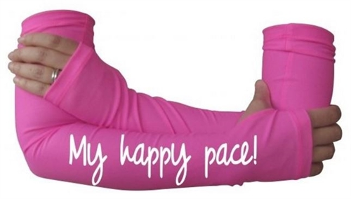 My happy pace - arm warmers
