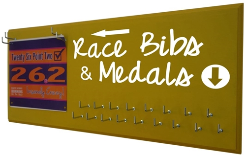 Medal holder - Race bibs & medals graphic