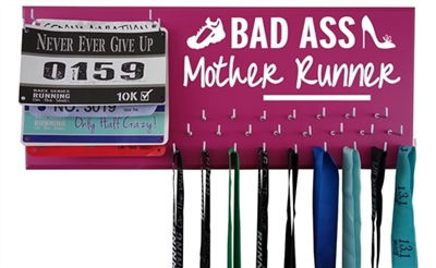 Bad ass mother runner - medal hanger