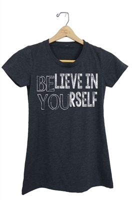 Believe in Yourself Shirt for Boys and Girls