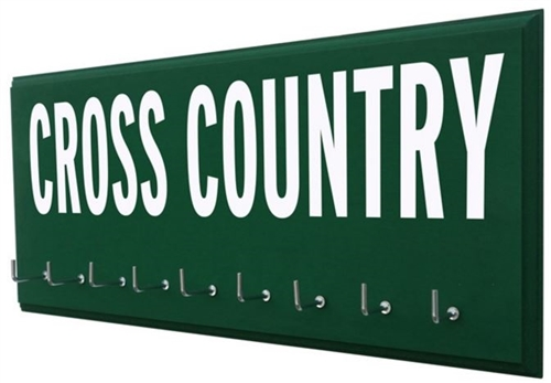 Cross Country - medal display rack