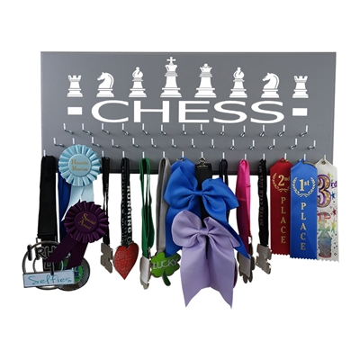 Chess - Medal display rack