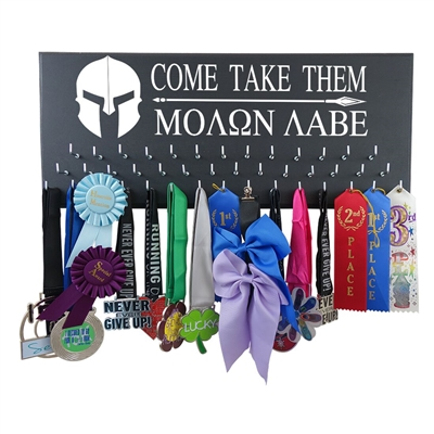 Come Take Them - Medal display rack