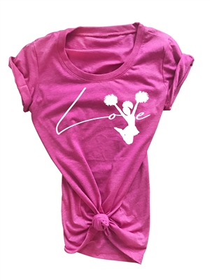 Love Cheerleading Top for Girls