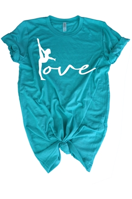 Love Gymnastics Shirt for Girls