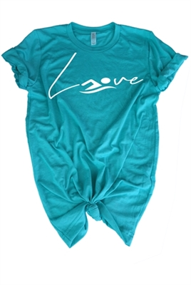 Love Swim Top for Girls