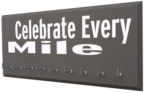 Medals display holder - Celebrate every mile