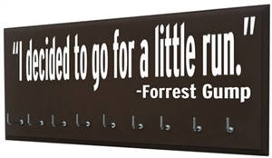 Forrest Gump Quotes for race bibs & medals display