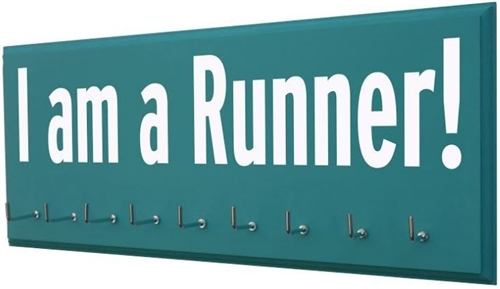 I am a runner display