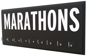 Marathons medals display rack