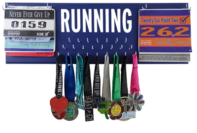 Running race bibs holder