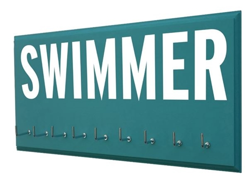 Swimming ribbons display - SWIMMER
