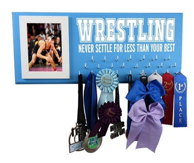 ribbon holder hangermedals display - WRESTLING
