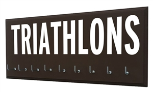 Triathlon Medals display - TRIATHLONS