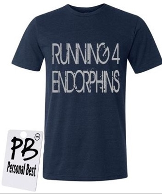 Man running shirt - endorphins