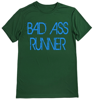 Men's running shirt - Bad Ass