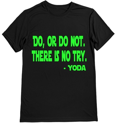Men's running shirt - Master Yoda