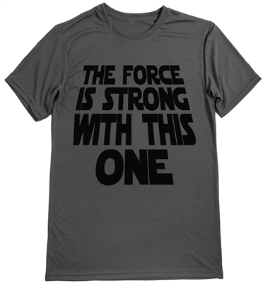 The force is strong with this one. - Star Wars inspired men's running