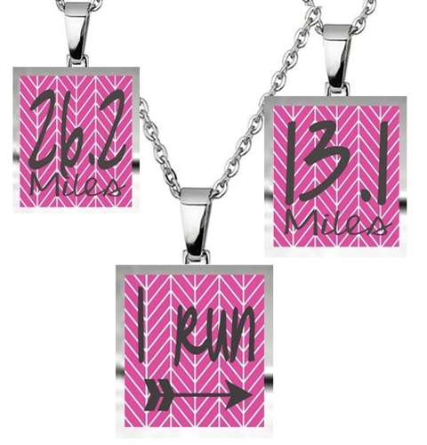 Runners necklace - Running jewelry