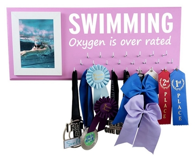 Inspirational medal hanger oxygen is over rated