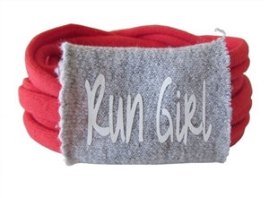 Run Girl - sweat away wristband
