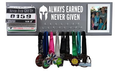 Running medals holder - Spartan