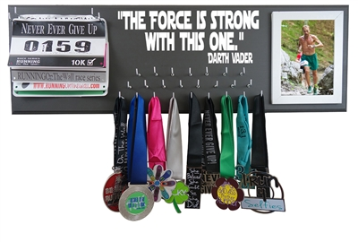 Star wars medal holder - The force is strong with this one