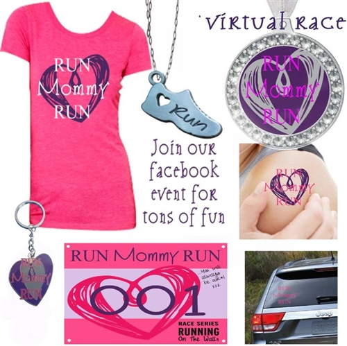 run mommy run - mother's day virtual races runs
