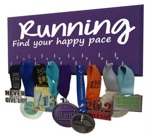 Motivational running quotes for medals display
